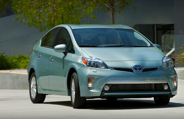 Toyota Prius California September 2012