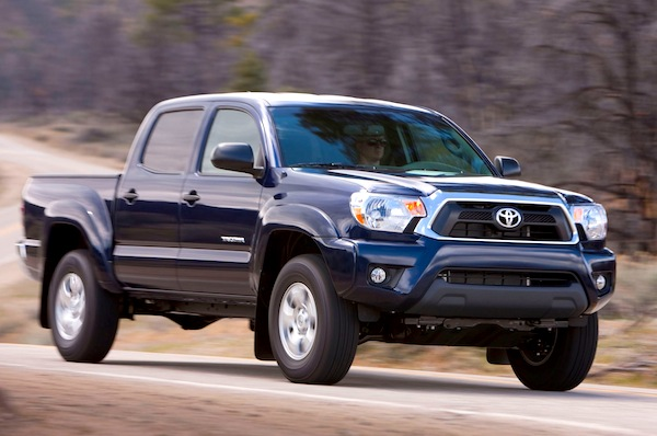 Toyota Tacoma California September 2012