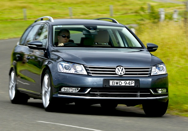 VW Passat Germany 2012