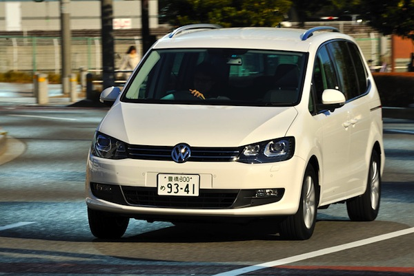 VW Sharan Japan September 2012