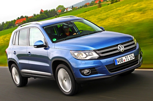 VW Tiguan Switzerland 2012
