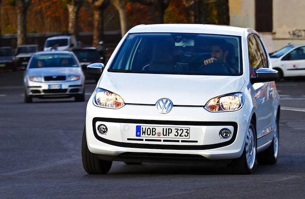 VW Up Denmark 2013