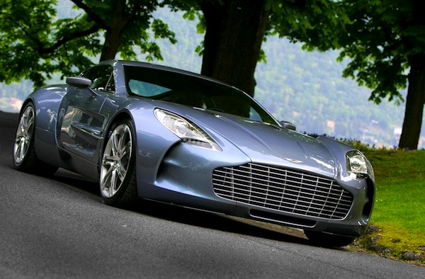 Aston Martin One-77 UK September 2012