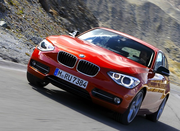BMW 1 Series UK September 2013