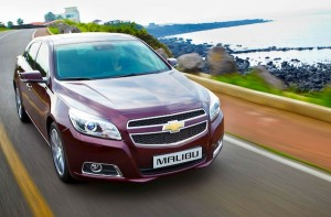 Chevrolet Malibu South Korea October 2012. Picture courtesy of cartok.com