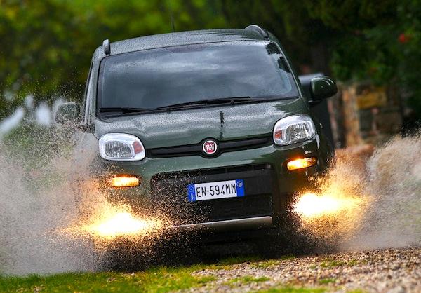 Fiat Panda Europe May 2014