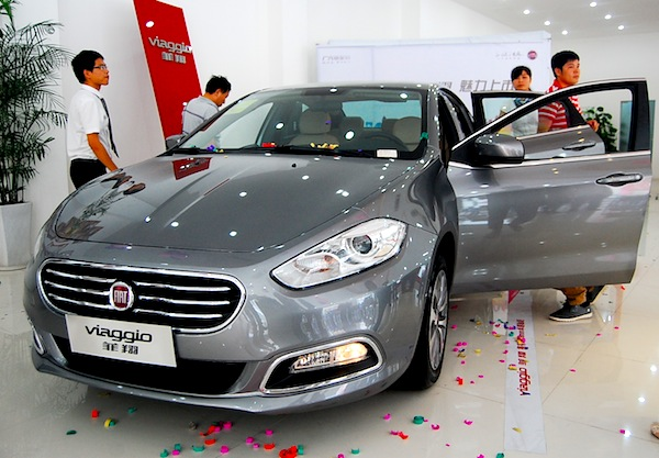 Fiat Viaggio China November 2012