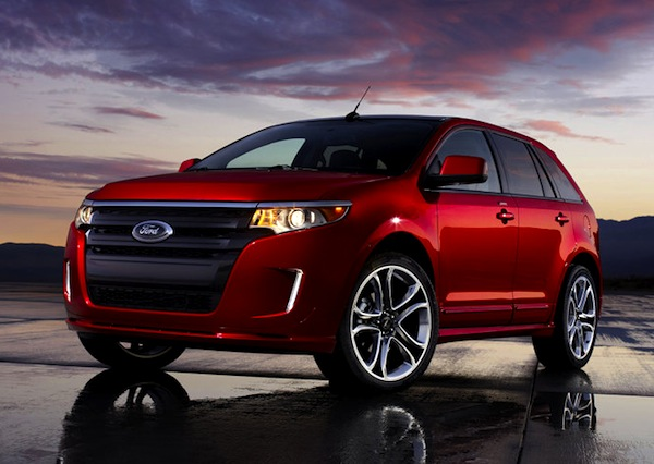 Ford Edge Sport Kuwait September 2012