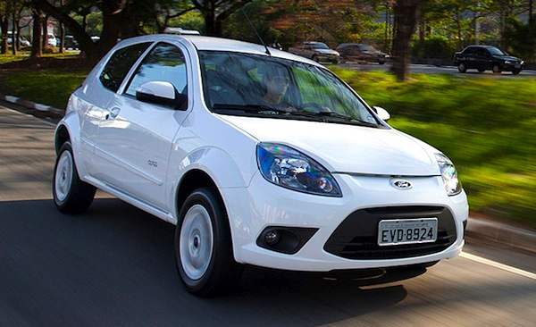 Argentina October 2012 Ford Ka Up To Second Spot Best Selling