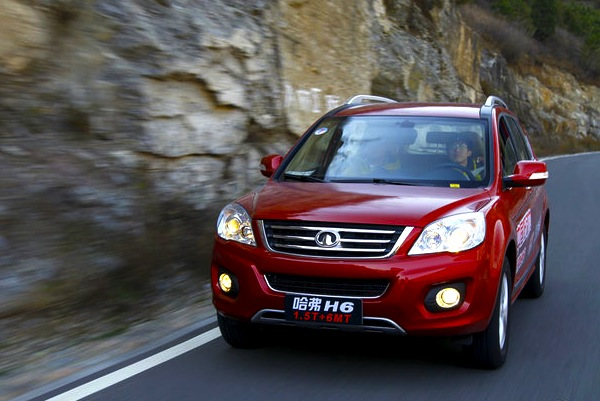 Great Wall Haval H6 China October 2012. Picture courtesy of auto.sohu.com