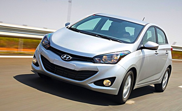 Hyundai HB20 Brazil October 2012. Picture by Revista Auto Esporte
