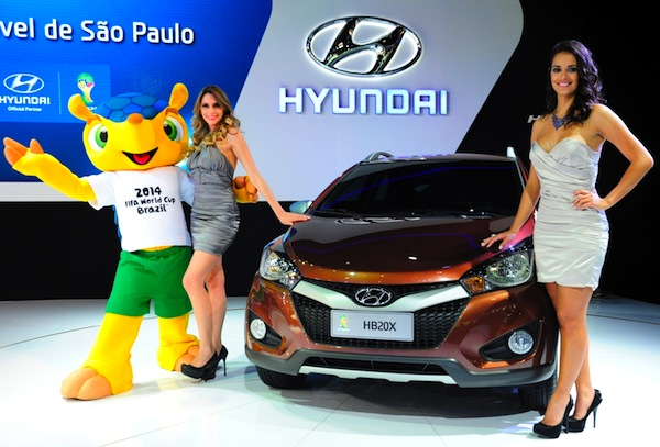 Hyundai HB20X Brazil October 2012