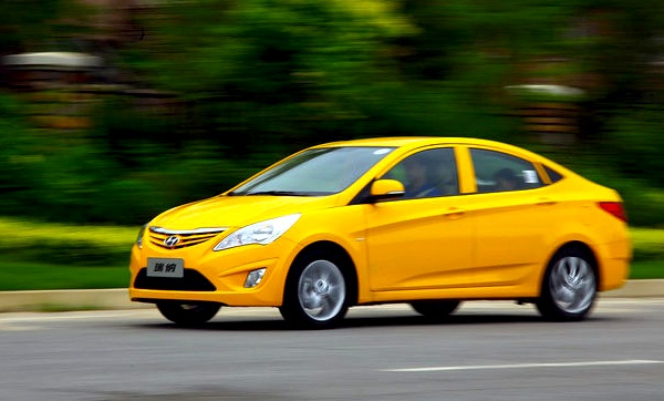 Hyundai Verna China October 2012. Picture courtesy of autosohu.com