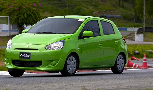 Mitsubishi Mirage Australia November 2012. Picture courtesy of heraldsun.com.au