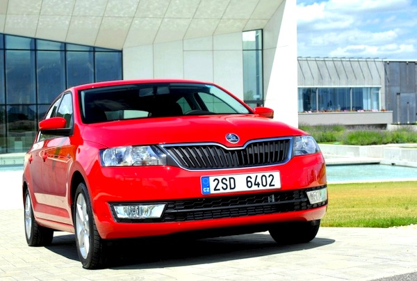 Skoda Rapid Poland January 2014