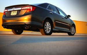 Toyota Camry Saudi Arabia September 2012. Picture courtesy of Motoring Middle East