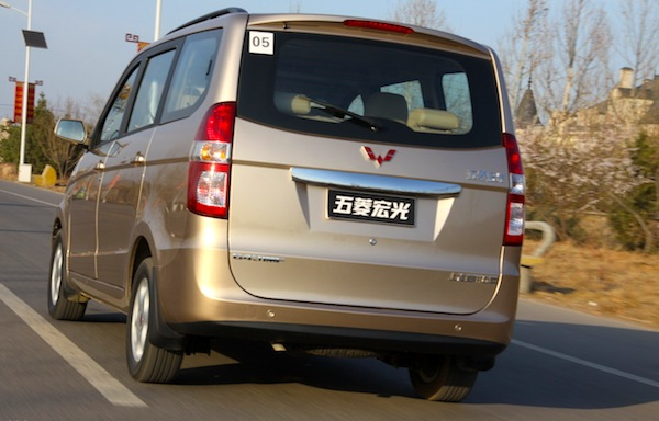 Wuling Hongguang China October 2012. Picture courtesy of auto.sina.com.cn