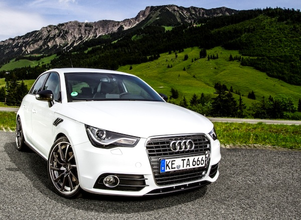 Audi A1 Switzerland 2013. Picture courtesy of Driving Dutchman