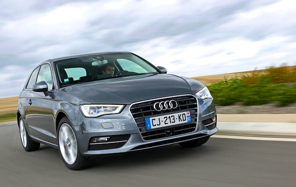 Audi A3 Finland January 2014. Picture courtesy of L'Argus