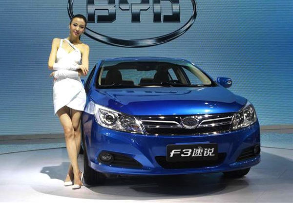 BYD F3 Surui World November 2012