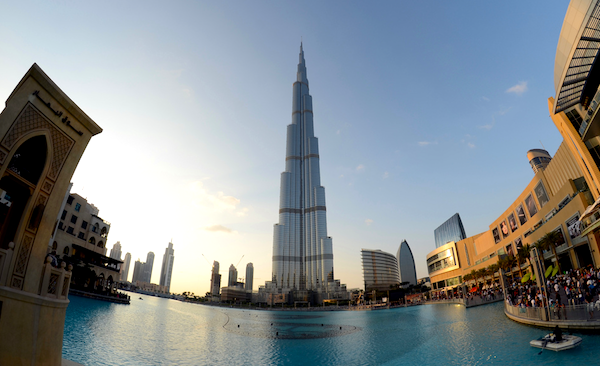 Burj Khalifa Dubai. Picture courtesy of Avatarmin via Flickr