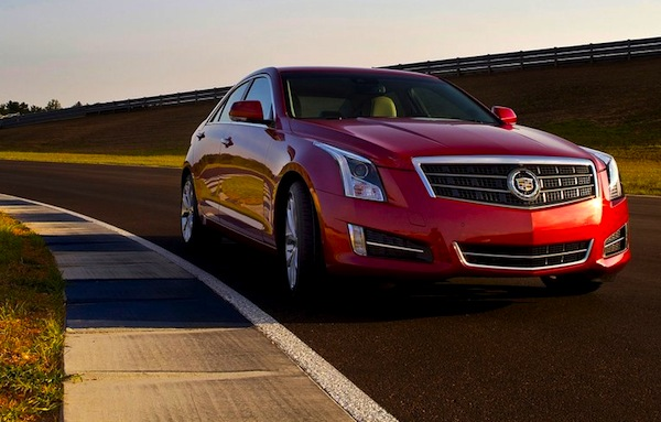 Cadillac ATS USA November 2012