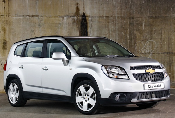 Chevrolet Orlando Venezuela 2013