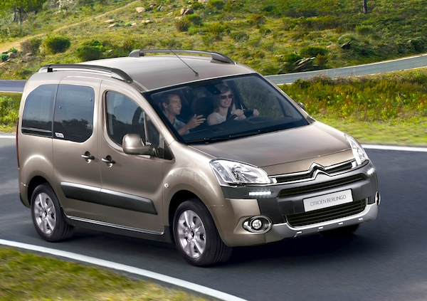 Citroen Berlingo France November 2012