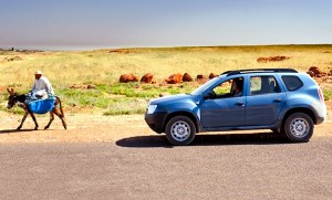 Dacia Duster Morocco November 2012. Picture courtesy of Top Gear