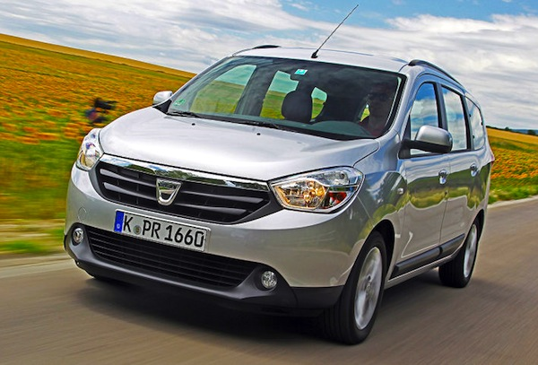 Dacia Lodgy. Picture courtesy of Auto Bild