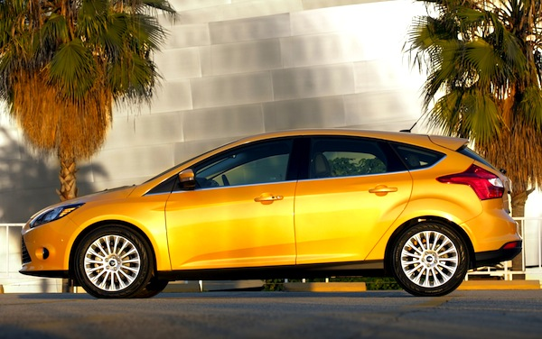 Ford Focus USA November 2012