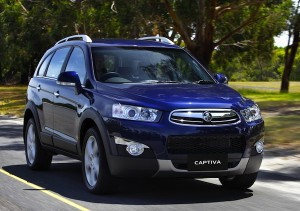 Holden Captiva New Zealand November 2012