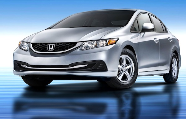 USA November 2012: Honda Civic #1 Passenger Car, Hits Highest Ranking Since  August 2009 U2013 Best Selling Cars Blog