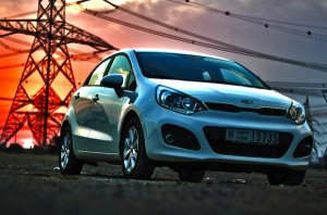 Kia Rio Egypt 2012. Picture courtesy of Motoring MiddleEast