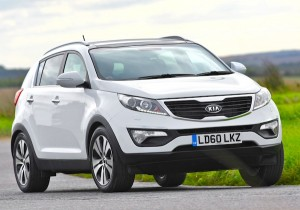 Kia Sportage Poland January 2013