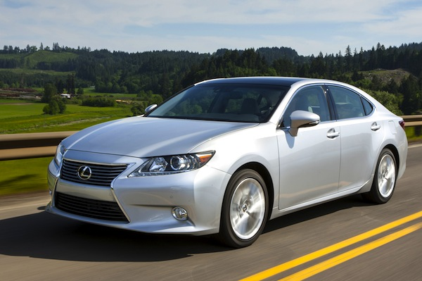 Lexus ES USA November 2012