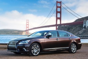 Lexus LS600h USA December 2012
