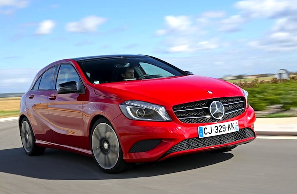 Mercedes A-Class. Picture courtesy of largus.fr