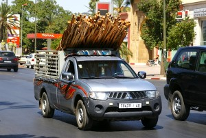 Mitsubishi L200 Morocco November 2012. Picture courtesy of orangevolvobusdriver via Flickr