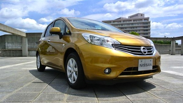 Nissan Note Hong Kong November 2012