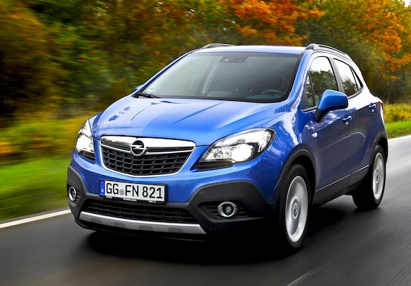 Opel Mokka Germany March 2013