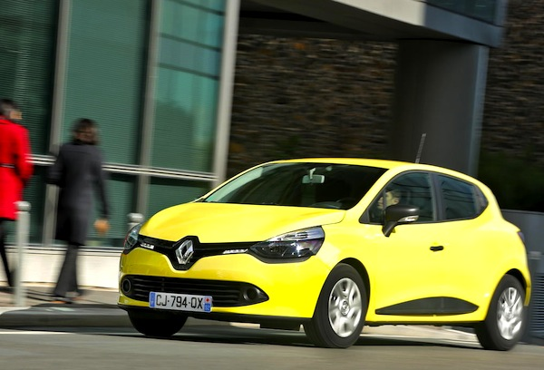 Renault Clio 4 Turkey December 2012