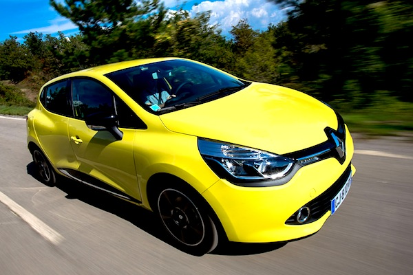 Renault Clio UK May 2014