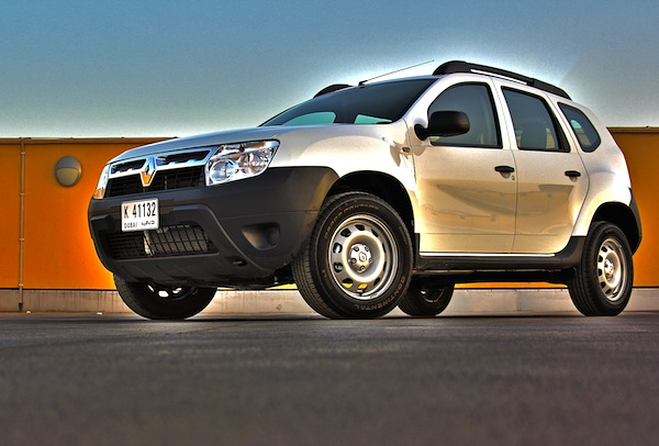 Renault Duster Gulf November 2012. Picture courtesy of MotoringME
