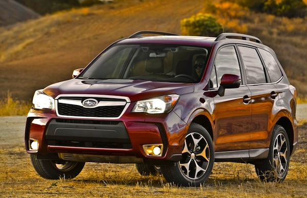 Subaru Forester USA November 2012