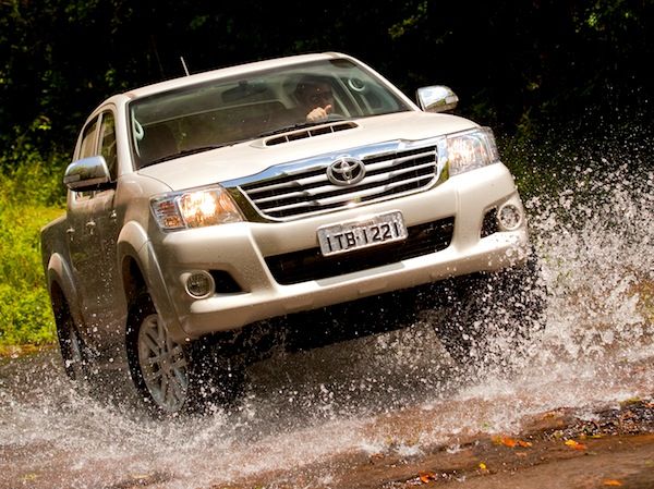 Toyota Hilux New Zealand June 2014