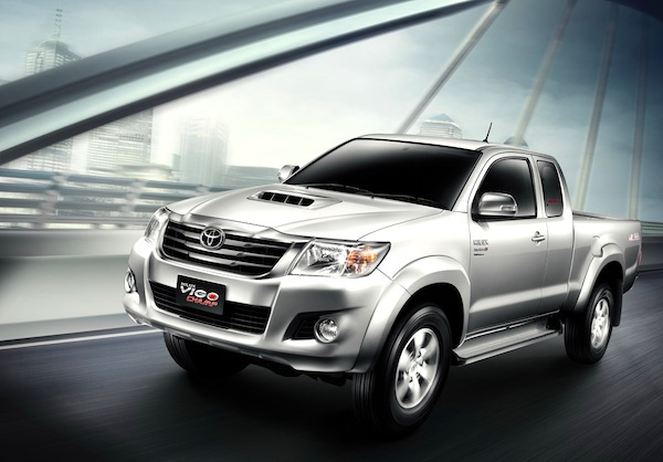 Toyota Hilux Thailand October 2012