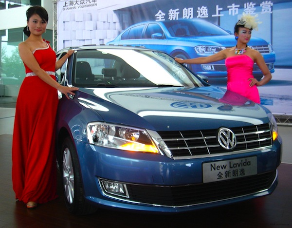 VW Lavida China November 2012. Picture courtesy of news.bitauto.com