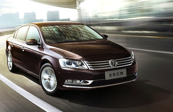VW Magotan Passat World October 2012