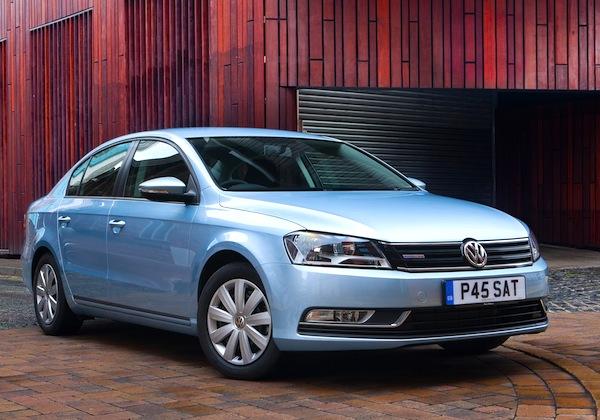 VW Passat Singapore November 2012